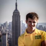 На крыше Rockefeller Building