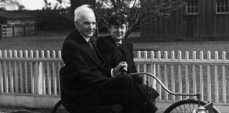Генри Форд и жена