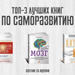 ТОП-3 лучшие книги по саморазвитию