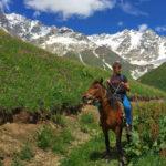 Катание на лошадях в Грузии