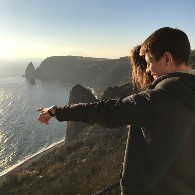 Самостоятельно посмотреть Крым. Мыс Фиолент