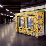 Напитки в Миланском метро
