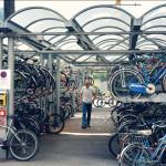 Велопарковка в Италии