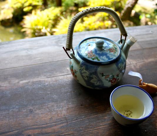 Бесплатный чай в Японии
